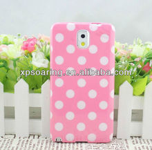 TPU dot case skin cover for Samsung Galaxy Note 3 N9005