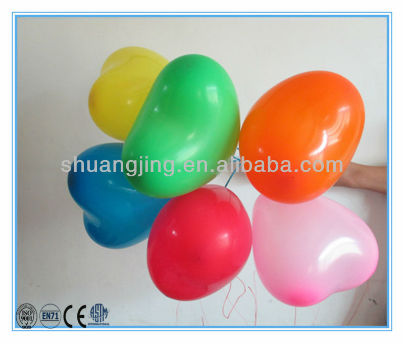 big colorful heart shape balloon as wedding&party decoration