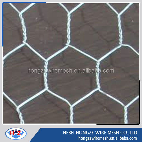 1/2'' hexagonal wire mesh for gabion mesh/cages rock prices