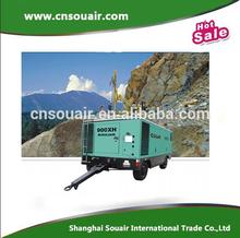 Competitive price Sullair diesel portable air compressor