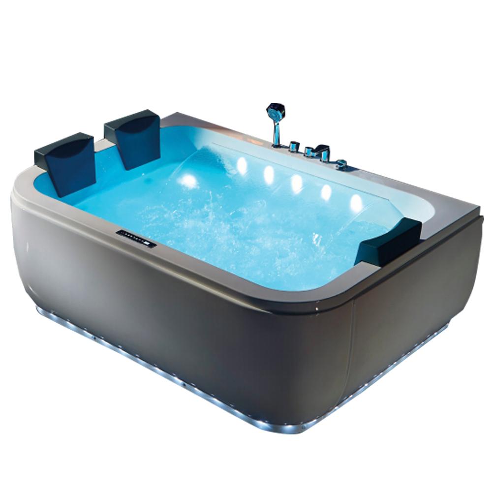 Hs-b1831t Ivory Bathtub/luxury Large Square Bathtub/hydrotherapy ...
