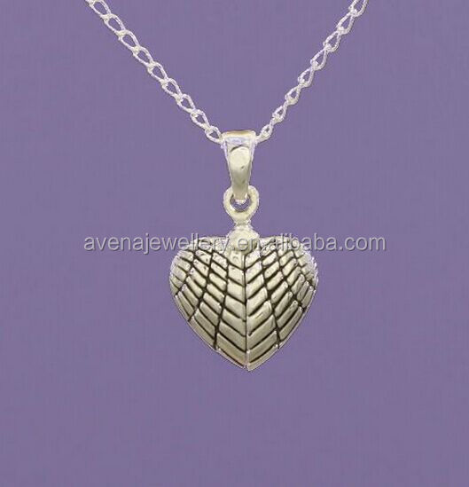 AW03 2015 Newest Design Silver Angel Heart Pendant Necklace with Two Angel Feather Wings for Women Jewelry Accessory
