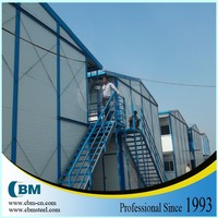 typhoon resistant heat insulation house prefab indonesia