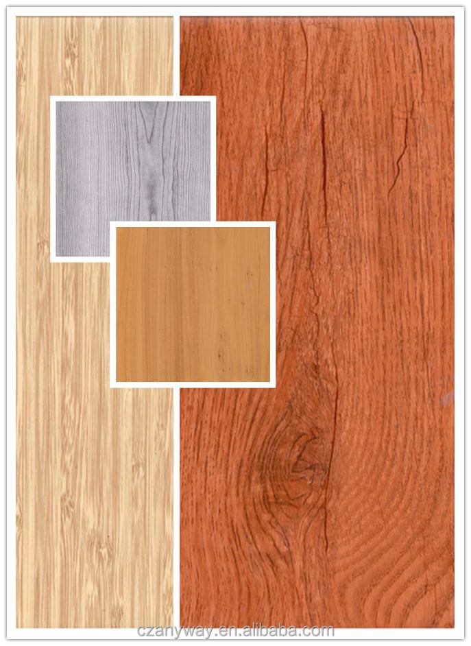 Vinyl floor tile on walls