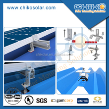 Tin roof solar mounting system solar racking