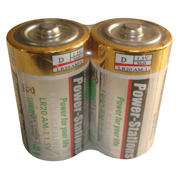 High/stable quality excellentalkaline dry battery LR20/D size