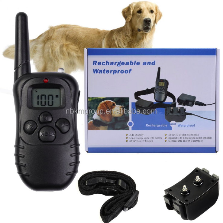 ABS Dog Training Instrument Dog Collar Electronic Bark Control