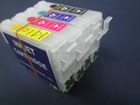 Refillable cartridges used for Epson Stylus NX125 NX130 NX420 S22 T12 T22 T25 TX120 TX123 TX125 TX130 TX135 TX320F TX420W