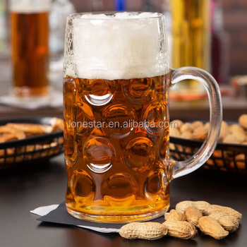 Top selling Whosale Lonstar 16.75 oz. Oktoberfest Customizable Beer Mug beer glass in German
