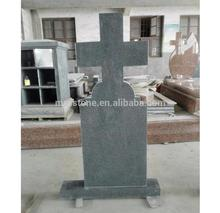 Romania Style Cheap Customized G654 Granite Headstone