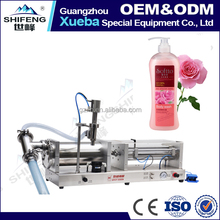 Semi-Automatic Single Head Pneumatic Liquid Shampoo Filling Machine