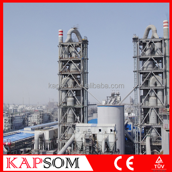 High Quality 300TPD VSK Cement Plant