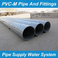 Modified Poly polyethylene types of pvc pipe heavy duty pvc plastic pipe/square pvc pipe/rectangular pvc pipe sizes