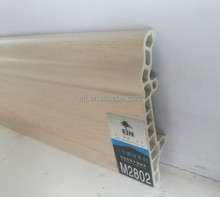 popular wpc skirting board decoration wood