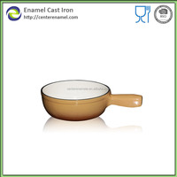 Cast iron round saucepans and cooking pots with BSCI LFGB FDA SGS