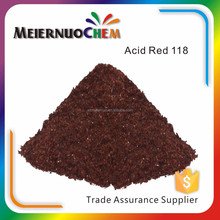 China Manufacturer Acid red 118 leather dye