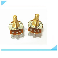 D250K CTS full shaft rotary potentiometer for guitar parts