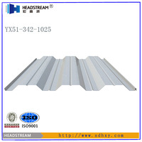 Galvanized welded floor grating steel grid plate metal decking sheet for concrete from alibaba china