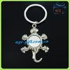 customized promotional animal metal key chain