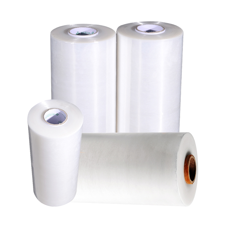 xinhe r clear/transparent industrial grade pre stretch film <strong>pe</strong> manufacturer