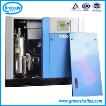 Atlas Copco Group ZR90 90kW Oil Free Water Cooling Rotary Screw Air Compressor