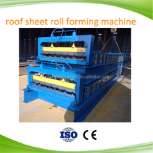 Hot sale colorful stone coated metal roof tile roll forming making machines