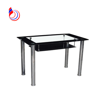 outdoor glass top metal base fiberglass aquarium steel dining table in good taste