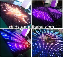 led stage backdrop cloth for birthday party decorations