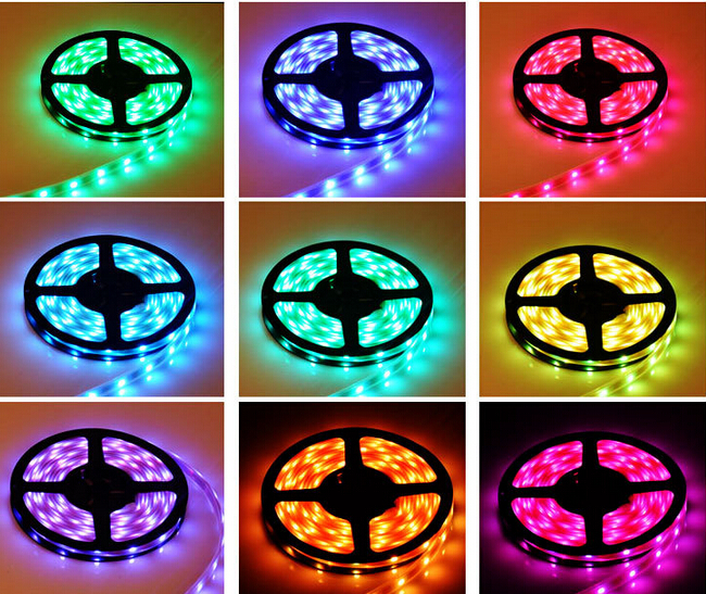 2015 hot sales dimmable 60LED per meter IP68 waterproof flexible led strip warm white SMD 5050 led strip light