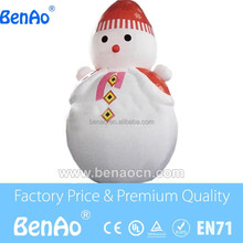 X167 Led light Inflatable snowman ,outdoor lighted snowman ,small inflatable snowman