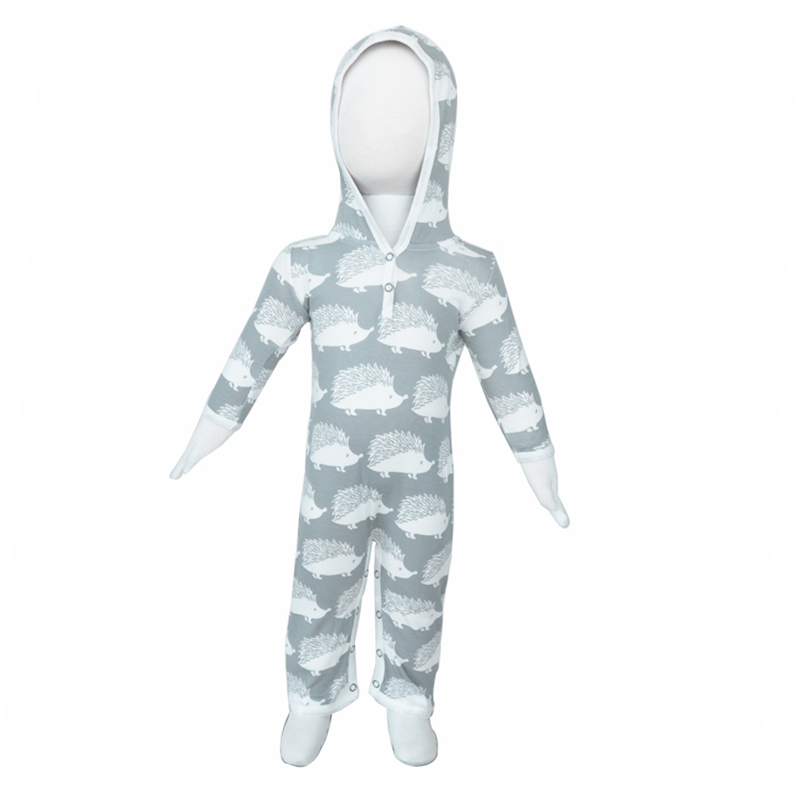 Eco Friendly 100% Cotton Winter Rompers For Girls