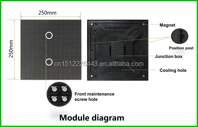 Indoor P3 P5 fixed economical led display led video wall panel 3.9mm