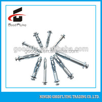 HWA-614 6X52 stainless steel hollow wall expandable metal anchor / anchor fasteners / carbon rod