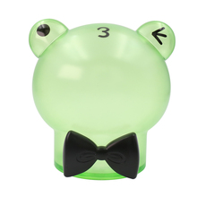 Gentleman animal Creative plastic Transparent Coin wedding money box