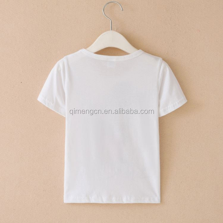 Hot Selling different types personalize t shirt with different size