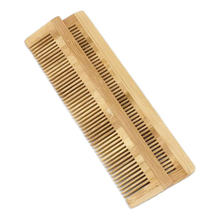 WB100-335 Natural Bamboo Wood Hair Comb