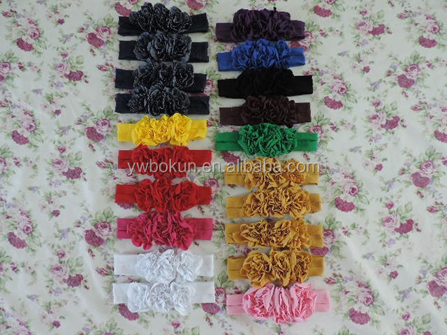 Baby flower headhands manufacturer for persnickety boutique wholease cute fancy hairbands