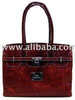 Leather Handbag Hand made in Spain