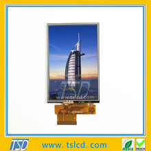 Sunlight readable high performance transflective tft display 3.5 inch QVGA lcd