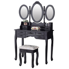 Dresser Table Dressing Room Vanity Girl Hollywood Makeup Mirror