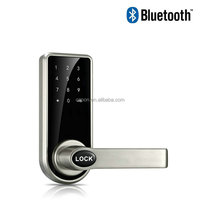 Hot Selling Models Zinc Alloy Material Remote Mobile Control Bluetooth Smart Electronic Digital Key Code Door Lock