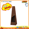 150cm square wood burning corten steel chimenea