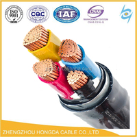 High Tension Underground Cable SWA Armoured Cable YJLV32 SWA XLPE Power Cable
