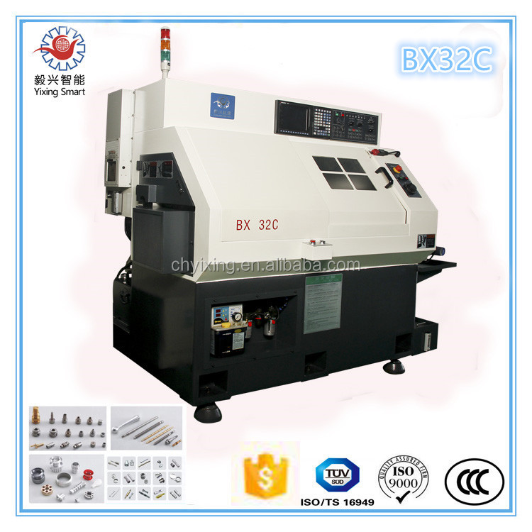 Shanghai manufacturer BX32 Customized CNC Precision machining turning automatic cnc lathe parts