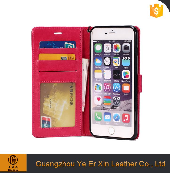 2016 hot sale design smart sublimation leather cell phone case for iphone 6s 7 plus