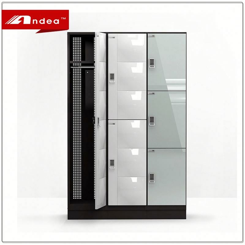 Newest style storage cabinet locker/compact locker double door steel cabinet electronic lockers