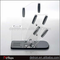 Best selling and good quality clear acrylic knife display stand ZH-2014444