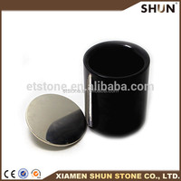 Black marble candle holder,home&wedding decoration candle jars wholesale,marble candle jars marble cups black marble holder
