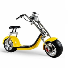 2018 battery removable newest EEC 60v20ah lion battery scrooser 2000w fat tire electric scooter WITH GPS