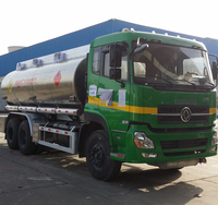 Dongfeng 6*4 chassis, CIMC LINYU 15-25m3 oil tank truck